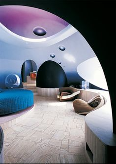 Le palais bulles de Pierre Cardin par Antti Lovag