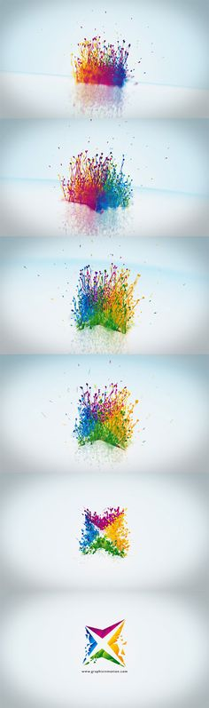 After Effects Project Files - Particle Splash Logo Reveal | VideoHive