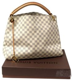 Louis Vuitton Artsy Mm Damier Ebene Azur Gold Edition  sold Out  Hobo Bag. d22ddc4a83470