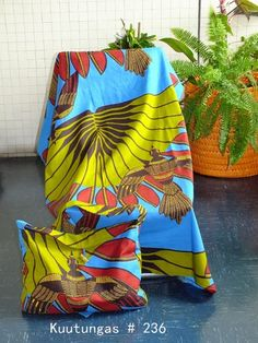 African handmade bag and pareo set by kuutungas on Etsy