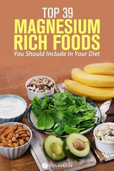 Top 39 Magnesium Rich Foods You shld Include In Your Diet (Insomnia— Taking around of magnesium before bed or with dinner is the best time of day to take the supplement. Also, adding in magnesium rich foods during dinner like spinach may help. Supplements For Anxiety, Natural Supplements, Magnesium Supplements, Health Tips, Health And Wellness, Health Benefits, Magnesium Deficiency, It Goes On, Foods To Eat