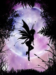Fairy in Violet - fairy Picture