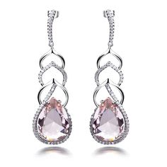 Find More Drop Earrings Information about Europen And American Fashion Pink Long Drop Earring Platinum Plated Setting White Cubic Zirconia Wedding Jewerly Free Shipping,High Quality wedding favors international shipping,China wedding dress designs with sleeves Suppliers, Cheap jewerly bracelet from HY Fashion Jewelry on Aliexpress.com