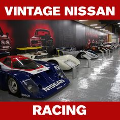 #ThrowbackThursday: Vintage Nissan Racing courtesy of the Nissan Heritage Center. #TBT