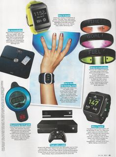 Latest high-tech fitness gear from SELF magazine www.brooklynfitchick.com