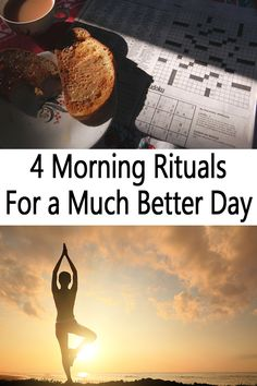 "Presently you might be thinking, ""I am not entirely certain that I require any longer morning rituals!"" Well, beside waking up, making espresso, and preparing for the day, these specific morning rituals are intended to enhance your general emotional wellness so you can be similarly as strong as some time recently."