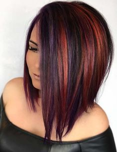 52 Amazing Hair Color Blends for Sleek Medium Haircuts for 2018
