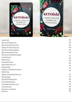 Keto(ish) A Simple Guide for Flexible Fat Fueled Living. Keto(ish) is for you if your: Skin is dry and flaky Nails are brittle Joints ache Never satisfied after meals At a plateau with your weight loss or have a hard time losing weight Energy is low Memory sucks Have hormonal issues Low HDL cholesterol Sick of feeling STUCK! Repin and get started now! Free Keto Meal Plan, Keto Diet Plan, Ketogenic Diet, Low Carb Intermittent Fasting, Eating Healthy At Restaurants, Fast Weight Loss, Lose Weight, Vegan Protein Sources, Hdl Cholesterol