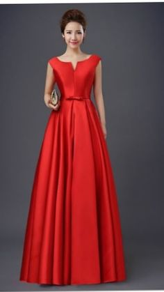 Elegant Dresses Classy, Classy Wedding Dress, Classy Dress, Cute Dresses For Party, Pretty Dresses, Beautiful Dresses, Red Wedding Gowns, Dark Red Dresses, African Lace Dresses