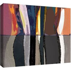 Dean Uhlinger Geometric Evolution Gallery-Wrapped Canvas, Size: 18 x 24, Multicolor
