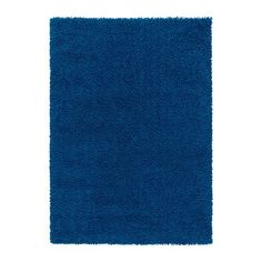 Awesome rug from Ikea - Wonder how hard it is to vaccume? Also - too deep blue? Will need to get color swatches to see