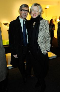 Tim and Lady Helen Taylor during PAD London Art + Design Fair - Collector's Preview on14.10.2013 in London, England.