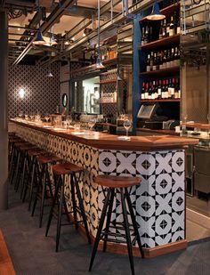 Fish Club Interior Von CHZON | innenarchitektur