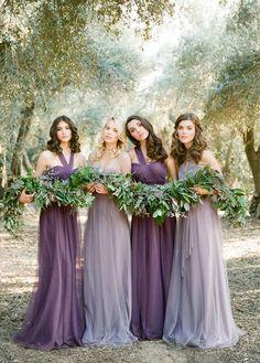 <3 <3 ADD diy www.customweddingprintables.com #customweddingprintables... shades of purple