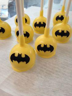 """Batman Cake Pops..."""