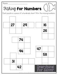 LOTS of number sense and hundreds charts ideas, printables and activities!