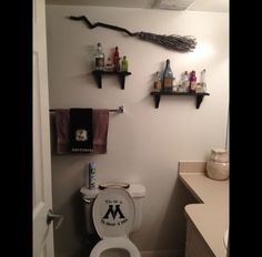 Don't just decorate the bedroom - Harry Potter bathroom