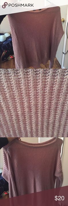 Pink brandy Melville sweater Knit pink sweater Brandy Melville Sweaters