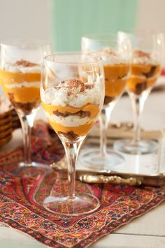 Marshalls Abroad: Happy Thanksgiving! Pumpkin Molasses Cookie Trifle