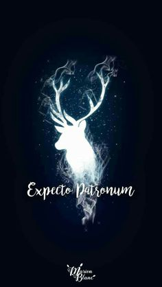 15 Harry Potter inspired wallpapers to fill . - Mobile wallpaper with the illuminated silhouette of in deer, expecto patronum, Harry Potter Harry Potter Tumblr, Harry Potter Magie, Arte Do Harry Potter, Harry Potter Spells, Harry Potter Pictures, Harry Potter Love, Harry Potter Universal, Harry Potter Fandom, Harry Potter World