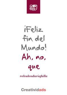 #elcalendariofalla #elgindelmundo #todoslocos #elfindelmundo #2012 #elfindelmundomax