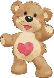 J Bear Clipart, Cute Clipart, Urso Bear, Baby Animals, Cute Animals, Teddy Bear Pictures, Tatty Teddy, Love Bear, Cute Teddy Bears