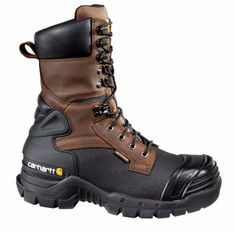 Carhartt Men's 10 in Pac Insulated Work Boots (Brown/Black, Size - Lace St Work Boots at Academy Sports Shoe Boots, Shoes, Dress Boots, Rugged Style, Insulated Work Boots, Style Brut, Composite Toe Work Boots, Waterproof Boots, Men Boots