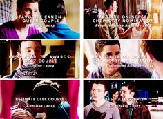 They will always be the very best thing Glee ever did.