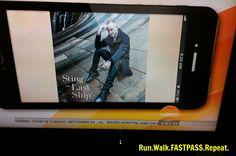 Run.Walk.FASTPASS.Repeat. Sting's The Last Ship....great music!