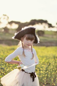 Pirate girl.