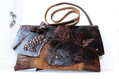 #4lapki #сумка #клатч #кожа #крокодил #ручнаяработа #clutch #leather #bag #handbag #handmade #craft #crocodile #artisancraft #leatherwork