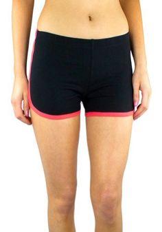 Ultras Bright Pink Shorty Short Gym Shorts 2.5 Inseam