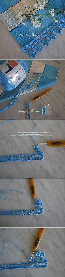 "[ ""Border hook to the master class."", ""love this edging"", ""Find and save knitting and crochet schemas, simple recipes, and other ideas collected with love. Crochet Boarders, Crochet Lace Edging, Crochet Art, Love Crochet, Irish Crochet, Beautiful Crochet, Crochet Crafts, Crochet Doilies, Crochet Flowers"