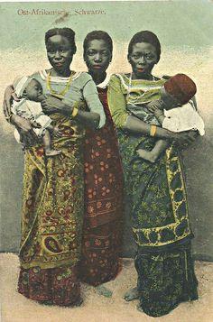 Women and Babies of Tanganyika c1910