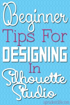 """Simple tips to help you visualize designs in Silhouette Studio."" This ones for my mom. She just got a Christmas silhouette, so exciting-ck Silhouette Cameo 2, Silhouette Cutter, Silhouette School, Silhouette Portrait, Silhouette Machine, Silhouette Cameo Projects, Silhouette Files, Silhouette Design, Silhouette America"