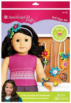 american girl craft: headbands & bracelets