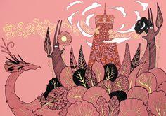 Storyteller's Tower by yanadhyana on DeviantArt
