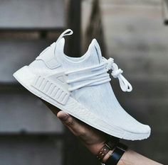 Adidas Women Shoes - Custom triple white ,Adidas Shoes Online, - We reveal the news in sneakers for spring summer 2017 Adidas Nmd, Tenis Nmd, Adidas Sneakers, Lacoste Sneakers, Sneakers Sale, Mens Sneakers 2017, Shoes Addidas, Green Sneakers, Men's Outerwear