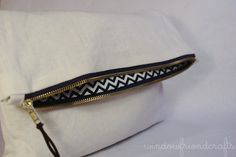 Ivory Linen Foldover Clutch with Exposed by WindowFriendCrafts, $26.00