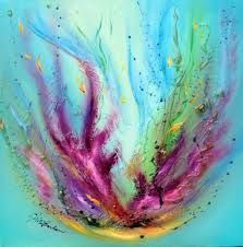 coral painting - Google Search