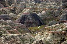 The Badlands National Park In Interior, South Dakota | 10 Places That Are Almost Too Beautiful To Be Real