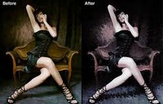 Dark Grunge Photo Effect:In this Photoshop tutorial you will learn a neat grungy photo effect using a variety of Photoshop filters and image adjustments. Photoshop Filters, Photoshop Pics, Photoshop Illustrator, Photoshop Tutorial, Dslr Photography Tips, Popular Photography, Photoshop Photography, Gaussian Blur, Editing Background