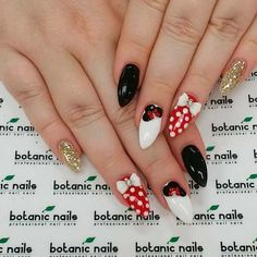Mickey mouse nails are very often considered to be something childish and  we couldn't but gather some of the freshest ideas and share them with you.  #nails #nailart #naildesign #mickeymousenails