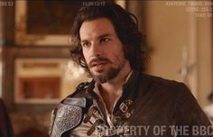 #Musketeers 3 Aramis is collecting a few more scars this year.....