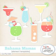 Bahama Mamas CU by Kim Cameron