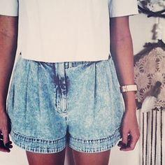 FindersKeepers denim Shorts  #suitster #online #store #fashion #style #finderskeepers #shorts  #denim Photo credit: kristycane
