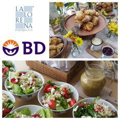 La Lorena Banquetes + BD + Lunch + Coffee Break.. #lalorena #lunch #healthy #coffeebreak #BD