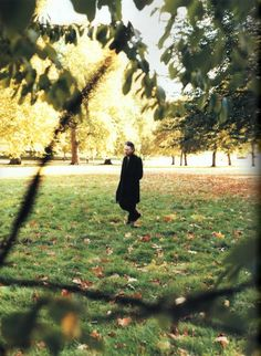 Thom Yorke in Undercover at Hyde Park @ Huge Magazine