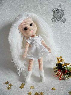 кукла снегурочка крючком схема вязания описание мк