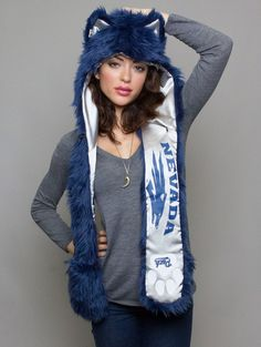 Spirit hood :: TEAMS :: WOMEN's :: Nevada Wolfpack